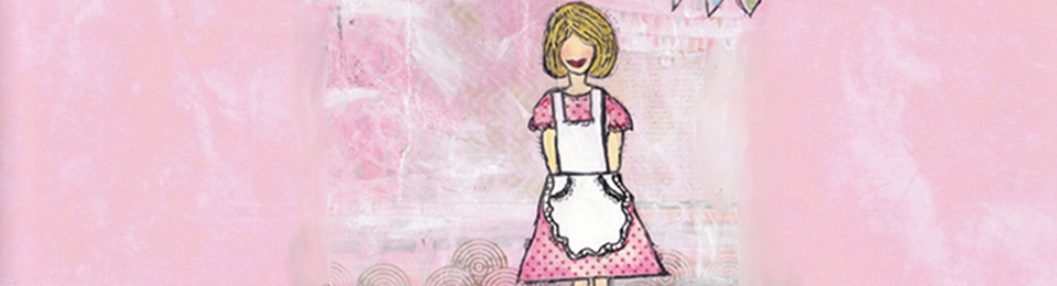 little white apron